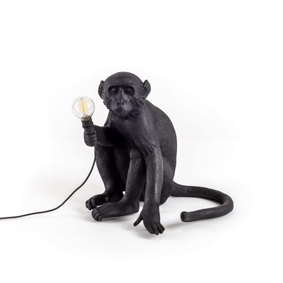 Seletti :: Lampa stołowa Monkey Sitting Outdoor