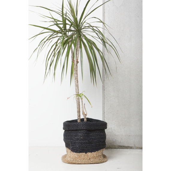 urban nature culture pleciony kosz czarny 28 cm 102647 salon meblowy warszawa 9design. Black Bedroom Furniture Sets. Home Design Ideas