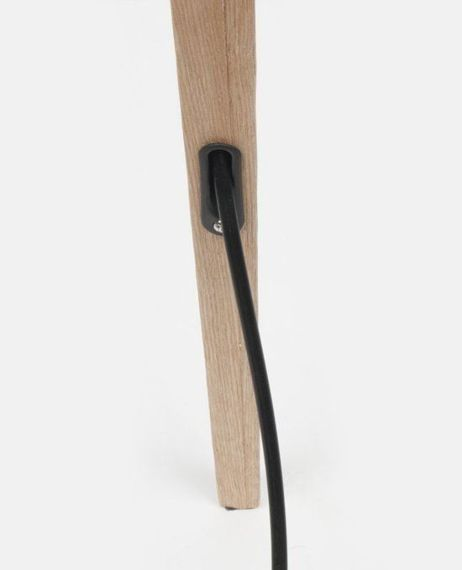 Zuiver :: Lampa Tripod Wood Black